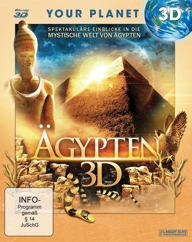 Blu-ray »Ägypten 3D (Blu-ray 3D)«