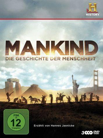 DVD »Mankind - Die Geschichte der Menschheit (3 Discs)«