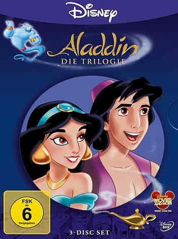 DVD »Aladdin - Die Trilogie (3 Discs)«