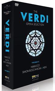 DVD »Verdi, Giuseppe - The Verdi Opera Selection...«