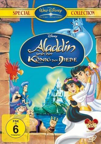 DVD »Aladdin und der König der Diebe«