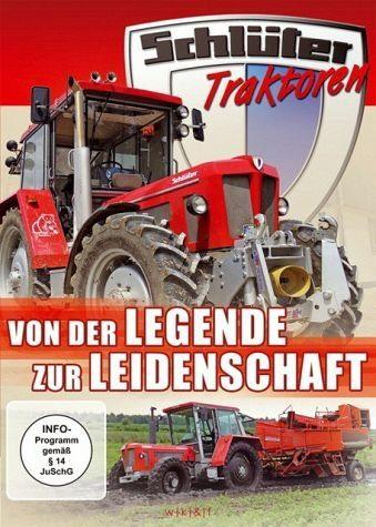 DVD »Schlüter - Bärenstarke Traktoren«
