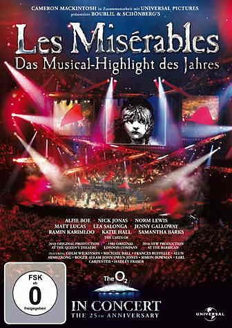 DVD »Les Misérables - In Concert (25th Anniversary...«