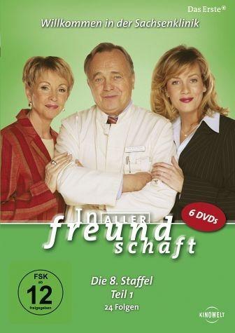 DVD »In aller Freundschaft - Die 08. Staffel, Teil...«