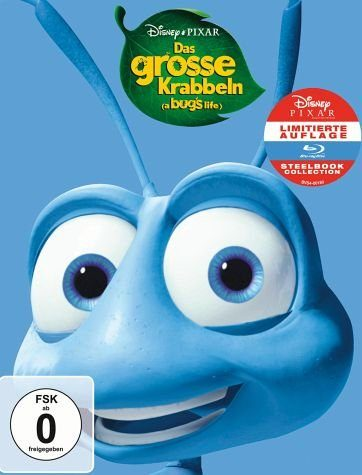 Blu-ray »Das große Krabbeln (Limited Steelbook Collection)«