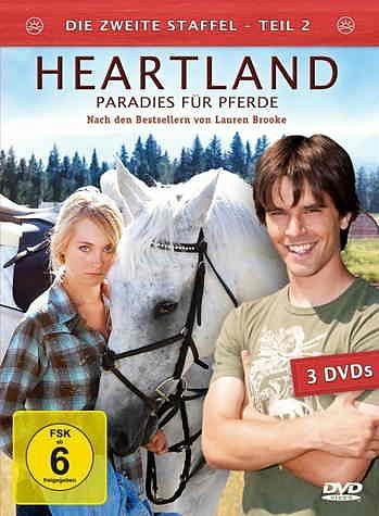 DVD »Heartland - Paradies für Pferde, Staffel 2.2«