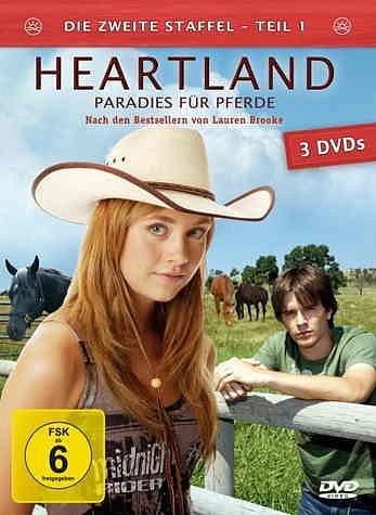 DVD »Heartland - Paradies für Pferde: Die zweite...«