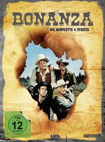DVD »Bonanza - Die komplette 04. Staffel (8 Discs)«