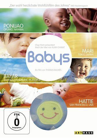 DVD »Babys (OmU, Special Edition mit Greifling)«