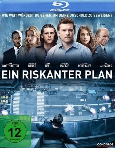 Blu-ray »Ein riskanter Plan«