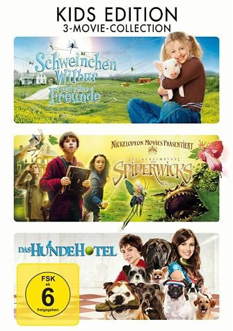 DVD »Kids Edition: 3-Movie-Collection (3 Discs)«