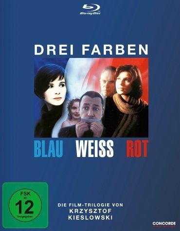 Blu-ray »Drei Farben: Blau / Weiß / Rot (3 Discs)«