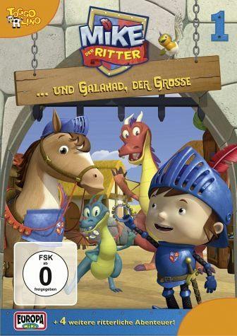DVD »Mike, der Ritter... und Galahad der Große«