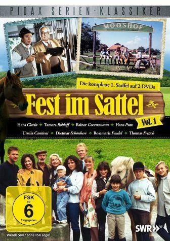 DVD »Fest im Sattel - Vol. 1 (2 Discs)«