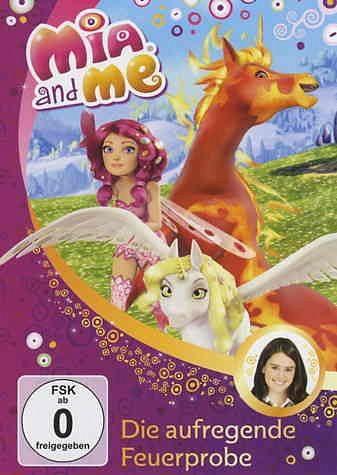 DVD »Die aufregende Feuerprobe / Mia and me Bd.7«