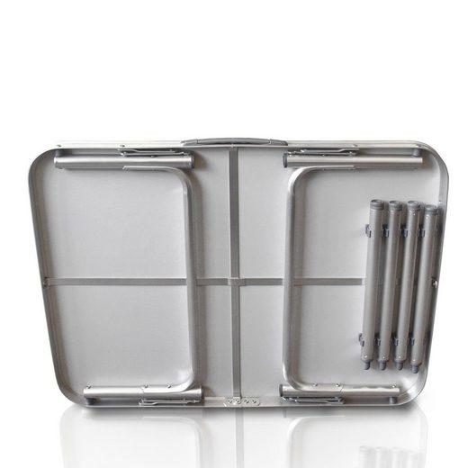 Wohaga Campingtisch »Aluminium Klapptisch 75x55xH60cm«
