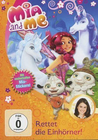 DVD »Mia and Me - Rettet die Einhörner!«