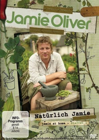 DVD »Jamie Oliver - Natürlich Jamie, Staffel 1 (2...«