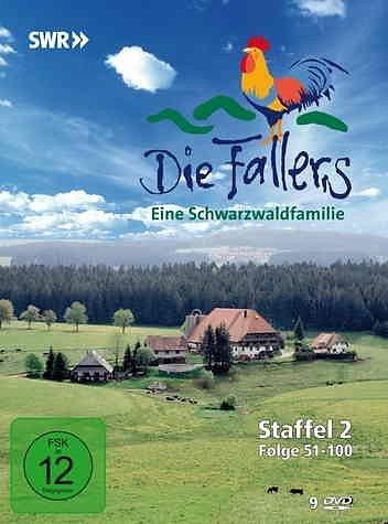DVD »Die Fallers - Staffel 2, Folge 51-100 (9 Discs)«