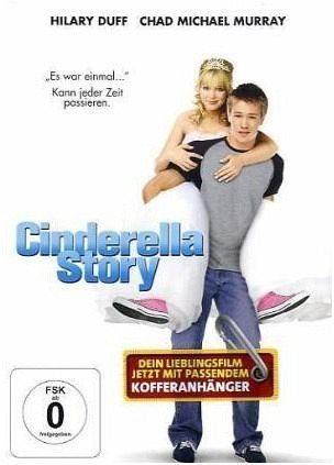 DVD »Cinderella Story, 1 DVD, m. Kofferanhänger«
