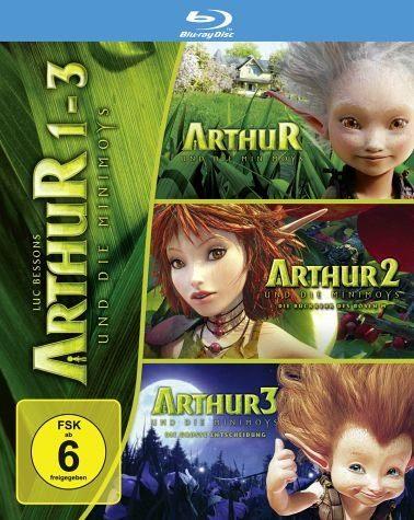 Blu-ray »Arthur und die Minimoys 1-3 (3 Discs)«