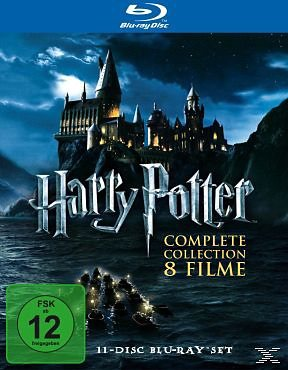 Blu-ray »Harry Potter Complete Collection - 8 Filme (11...«