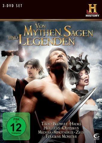 DVD »History: Von Mythen, Sagen und Legenden (3 Discs)«