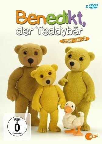 DVD »Benedikt, der Teddybär - Folge 1 bis 26 (2 Discs)«