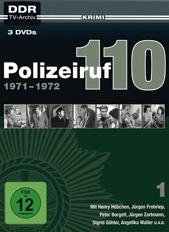DVD »Polizeiruf 110 - Box 01 (3 Discs)«