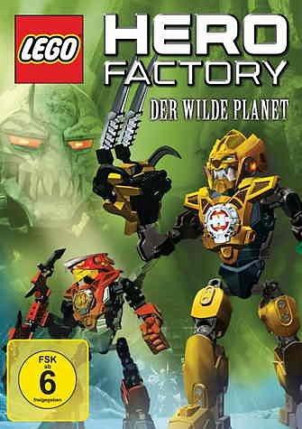 DVD »Lego Hero Factory - Der wilde Planet«