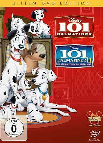 DVD »101 Dalmatiner / 101 Dalmatiner - Teil 2: Auf...«
