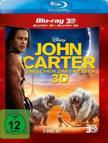 Blu-ray »John Carter - Zwischen zwei Welten (Blu-ray...«