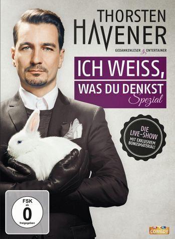 DVD »Thorsten Havener - Ich weiß, was du denkst«