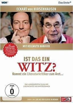DVD »Eckart von Hirschhausen mit Hellmuth Karasek -...«
