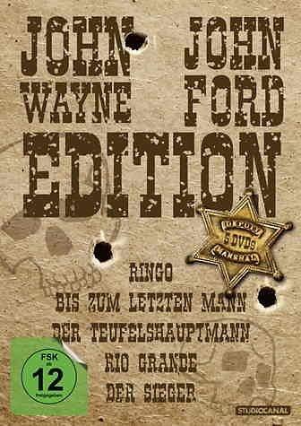 DVD »John Wayne / John Ford Edition (5 Discs)«