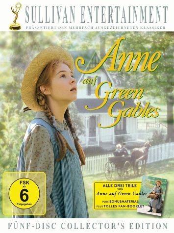 DVD »Anne auf Green Gables, Teil 1-3 (Collector's...«