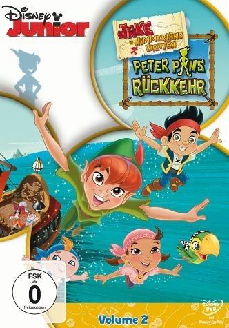 DVD »Jake und die Nimmerland Piraten - Peter Pans...«