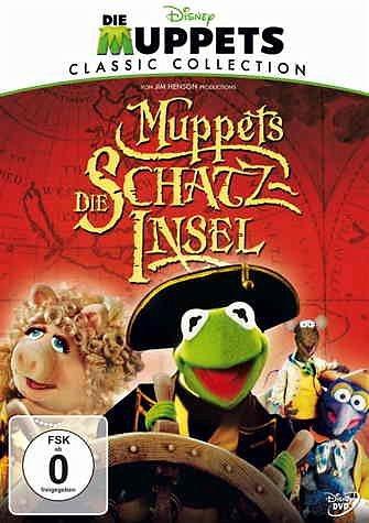 DVD »Muppets - Die Schatzinsel (Jubiläums-Edition,...«