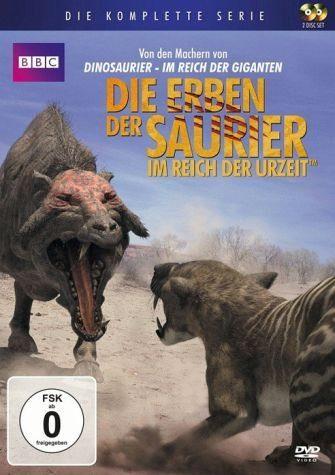 DVD »Die Erben der Saurier: Im Reich der Urzeit -...«