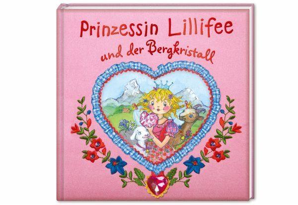 Buch mit Leinen-Einband »Prinzessin Lillifee und der Bergkristall /...«