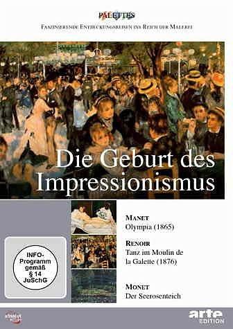 DVD »Die Geburt des Impressionismus: Manet / Renoir...«