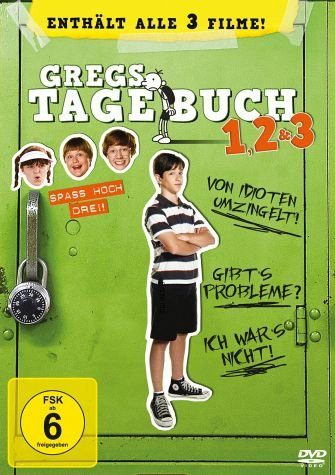DVD »Gregs Tagebuch 1, 2 & 3 (3 Discs)«