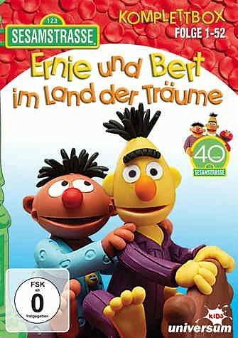 DVD »Sesamstraße - Ernie und Bert im Land der...«