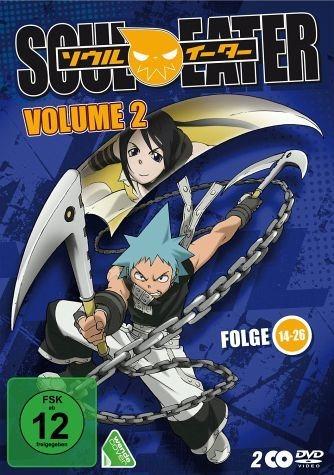 DVD »Soul Eater, Volume 2, Folge 14-26 (2 Discs)«