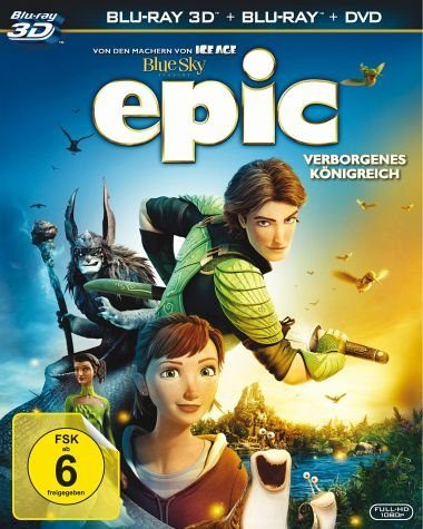 Blu-ray »Epic - Verborgenes Königreich (Blu-ray 3D, +...«