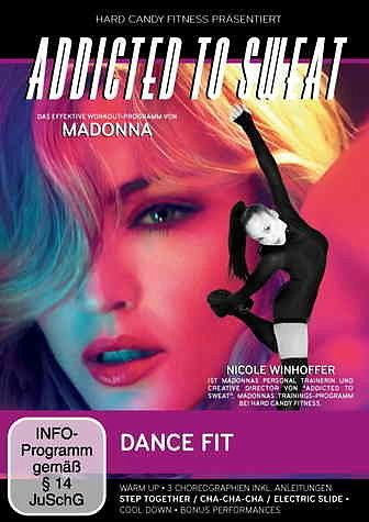 DVD »Addicted to Sweat - Dance Fit«