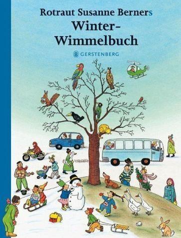 Buch mit Papp-Einband »Winter-Wimmelbuch«