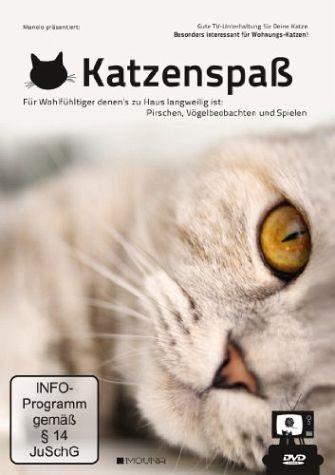 DVD »Katzenspaß - Gute TV-Unterhaltung für deine Katze«
