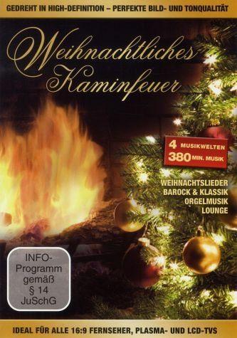 DVD »Weihnachtliches Kaminfeuer«