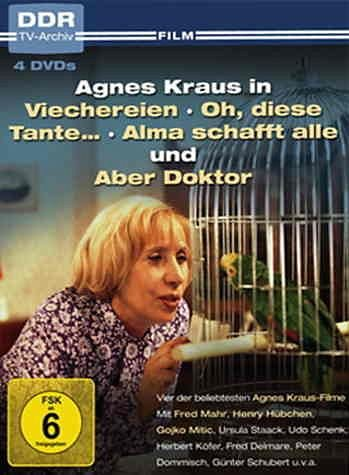 DVD »Agnes Kraus in ... (4 Discs)«